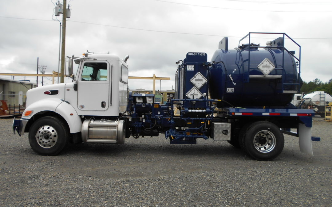 Coastal Chemical 30 BBL DOT Tank Treater Truck